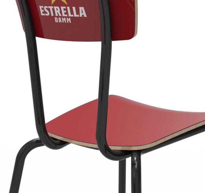 Diseño silla fórimca