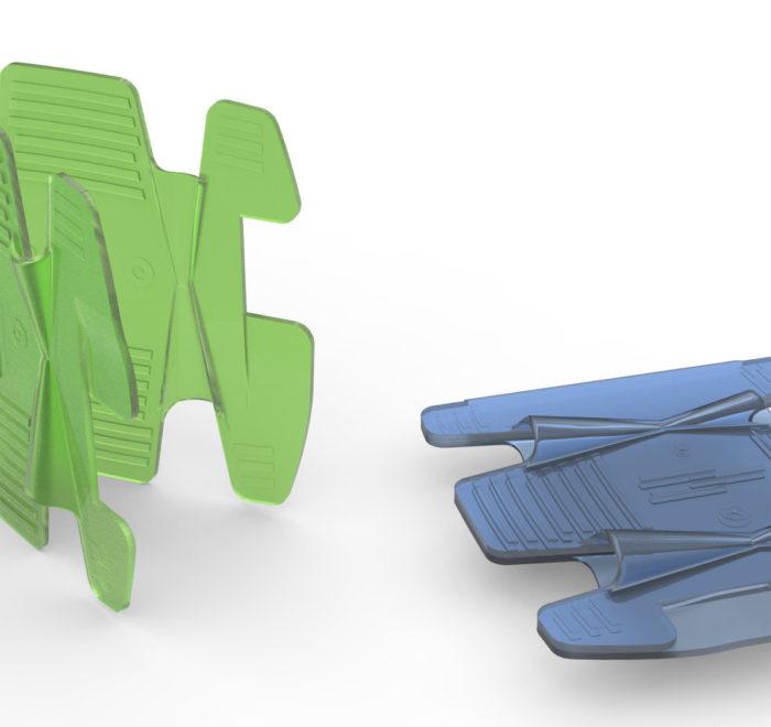 Diseño enhebrador catéteres